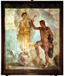 L'intolérance au gluten, une histoire qui date Persée et Andromède ©Museo Nazionale Napoli
