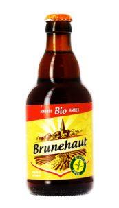 L'ambrée de ©Brunehaut fait partie des bières sans gluten