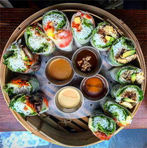 Voyage au sein de la cuisine asiatique - Les rouleaux de ©Banoi