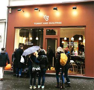 La boutique de gaufres sans gluten à Paris ©Yummy & Guiltfree