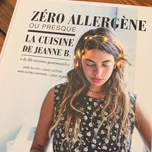 Le nouveau, après Zéro Gluten, Zéro Allergène de Jeanne B ! ©Because Gus