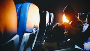 Plateaux-repas sans gluten dans l'avion !