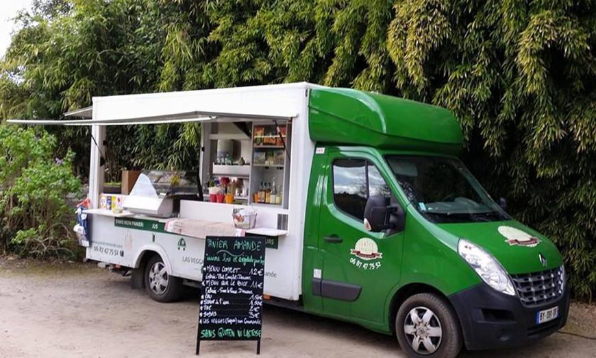 Panier Amande - food truck / 2