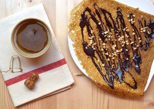 Une crêpe sans gluten chez ©Bio Sphère Café ?!