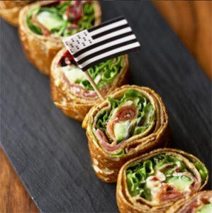 Une galette-roll pour terminer ?! @Breizh Café - galettes sans gluten au Breizh Café
