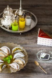 Toutes les pâtisseries orientales sans gluten ! Les cornes de gazelle ©Anne Reverdy-Demay