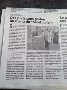 Le Saint-Julien, royalement gluten free / 2