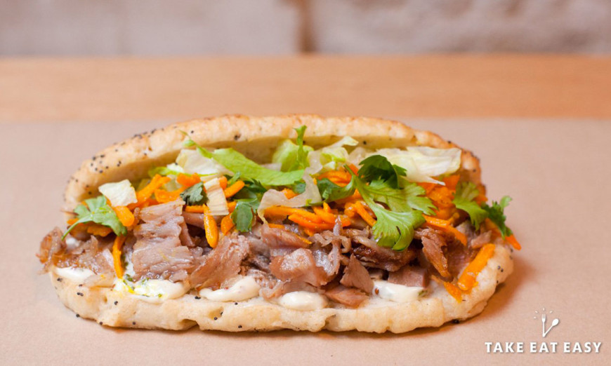 Our Paradis et Belleville - kebab gourmet / 1
