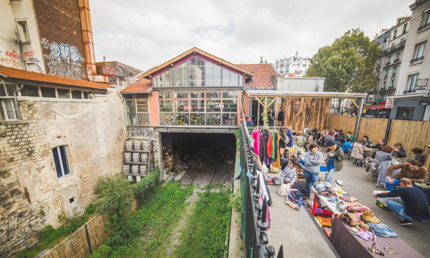 La Recyclerie - Ancienne gare Ornano / 1