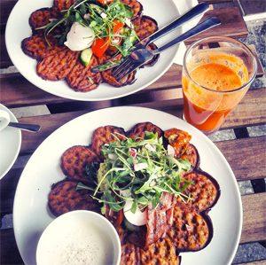 On se régale ici ! @instagraiiie Manger une gaufre sans gluten à Paris !