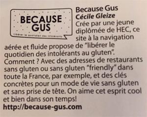 Ils parlent de Because Gus / 6