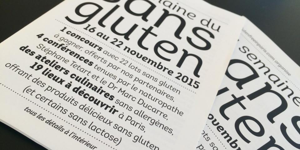La Semaine du Sans Gluten à Paris