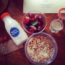Vite une livraison de petit-déjeuner sans gluten ! /1