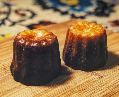 La recette des cannelés sans gluten de Marie Roulier @kch33s3
