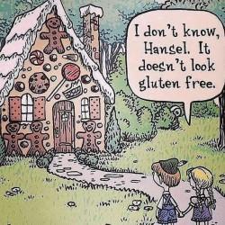 Caricatures de gluten free /9