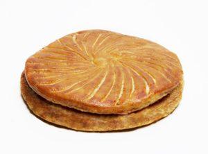 La galette des rois sans gluten aux amandes & chocolat du ©Petit Minotier