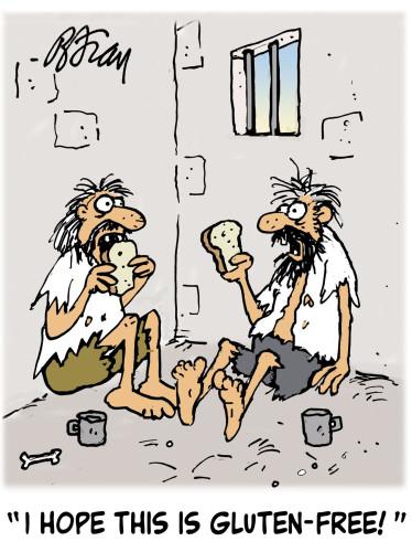 Caricatures gluten free /4