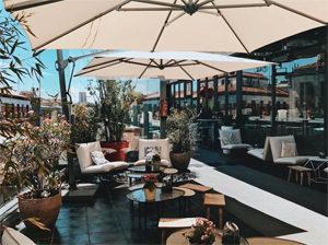 Où manger sans gluten à Madrid - Un rooftop sympa ! ©La Cocina de San Anton