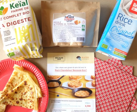 Le pack spécial Chandeleur de Gluten Corner /1Le pack spécial Chandeleur de Gluten Corner /1