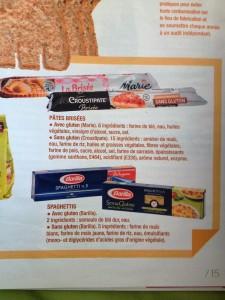 Questions sans gluten au BHV Marais /5
