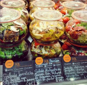 Les bocaux de ©PUR Etc restaurant sans gluten à Strasbourg