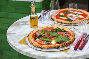 La Parmatador & la Margherita ©Sabribeny au Biglove Caffè, l'un des restaurants italiens sans gluten à Paris