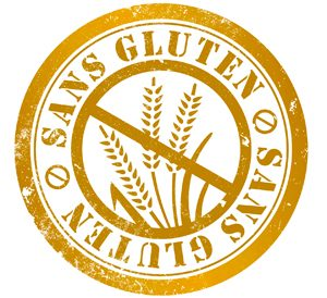 Attention ceci n'est pas un logo sans gluten officiel !!
