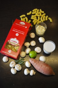 Recette de mac and cheese sans gluten et vegan /1