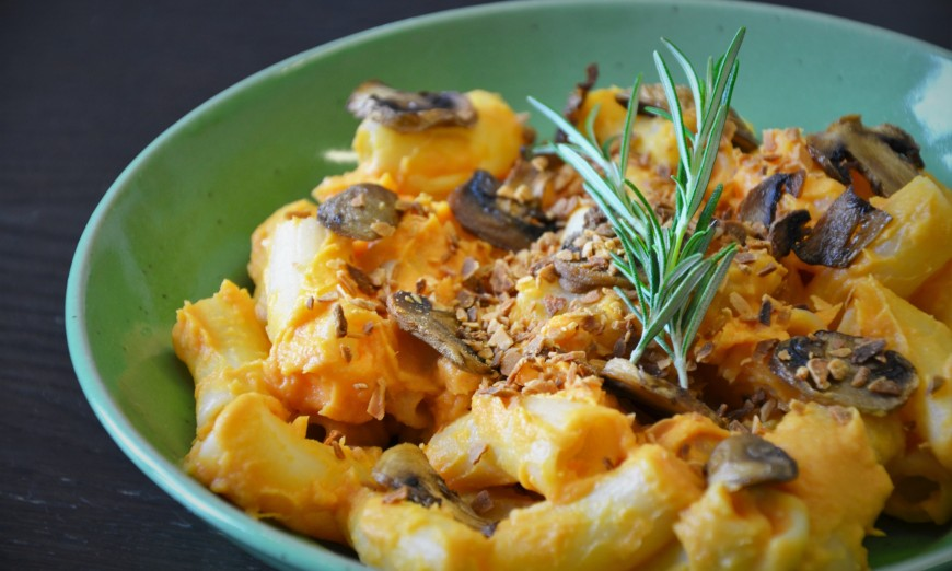 Recette de mac and cheese sans gluten et vegan /3
