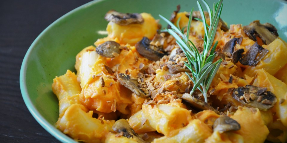 Recette de mac and cheese sans gluten et vegan /3