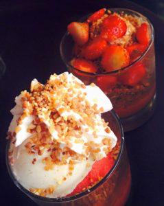 Pause dessert chez ©Diet And Delicious lors d'un séjour sans gluten dans le Grand Est