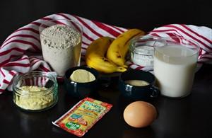 Recette de pancakes sans gluten et sans lactose /1