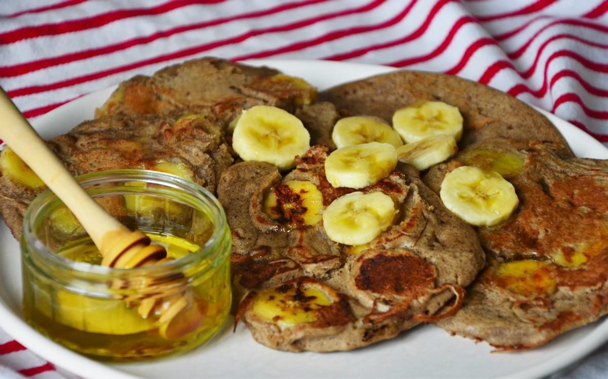 recette de pancakes sans gluten et sans lactose because gus. Black Bedroom Furniture Sets. Home Design Ideas