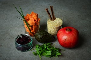 La recette du power bowl salé sans gluten /2