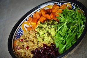 La recette du power bowl salé sans gluten /4