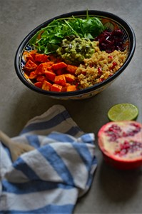 La recette du power bowl salé sans gluten /5