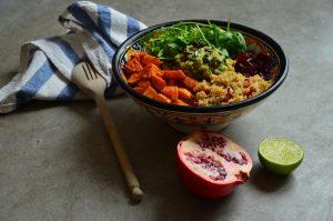 La recette du power bowl salé sans gluten /6