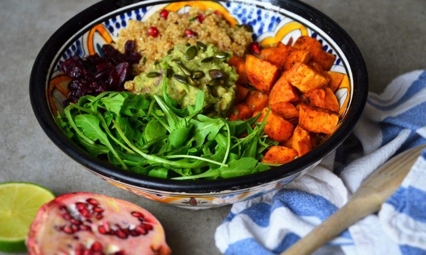 La recette du power bowl salé sans gluten /1