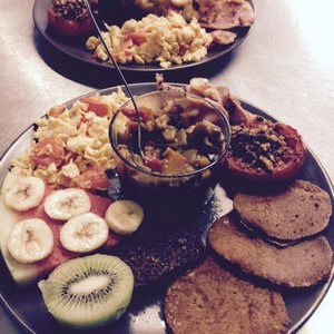 Le brunch paleo de ©Silex & Fourchette