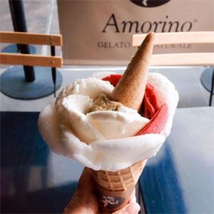 Glaces sans gluten : des nouvelles fraîches chez Amorino !