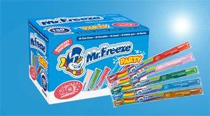 Glaces sans gluten : des nouvelles fraîches avec Mr Freeze !