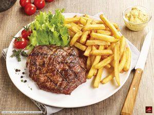 Où manger sans gluten sur l'autoroute ? ©Image & Associés pour Courtepaille
