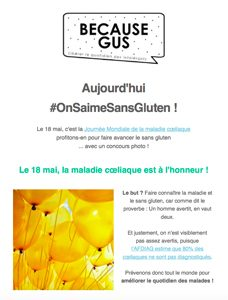 A quoi sert la newsletter de Because Gus ?! / 3