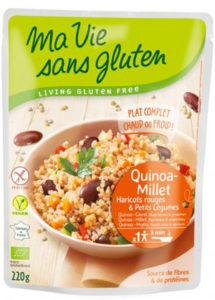 Le quinoa, meilleur ami des sans gluten ? Pratique et 100% sans gluten ! ©Ma Vie Sans Gluten