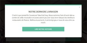Take Eat Easy c'est fini, témoignage de startup food / 4