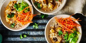 Sans gluten à Londres le temps d'un week-end - Les buddha bowls ©Sainsburry Magazine