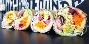 Le sushi burrito sans gluten débarque avec Fuumi ! / 2
