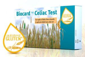 L'autotest pour dépister la maladie cœliaque chez soi Biocard Celiac Test ©AAZ LMB