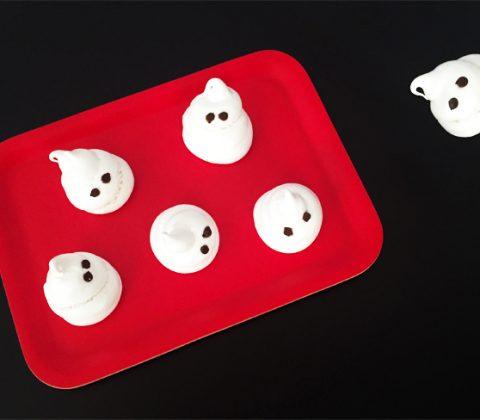Nos fantômes pour célébrer Halloween sans gluten et vegan ©Because Gus