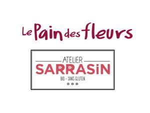 Le Pain des Fleurs et l'Atelier Sarrasin, les partenaires de l'apéro pour la Gluten Free Christmas Party ©Because Gus